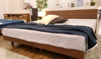 寝室に落ち着いた雰囲気を♪LAPIASオリジナルベッドフレーム!