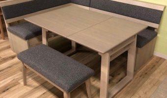 伸長式ダイニングテーブルセットをご紹介致します!