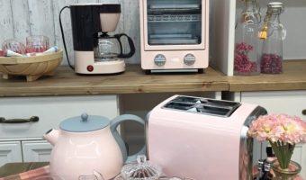 レトロなカラーとスタイルが魅力のキッチン家電♩♩