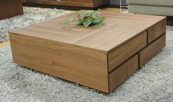 おすすめのウォールナット材を使ったセンターテーブルをご紹介!