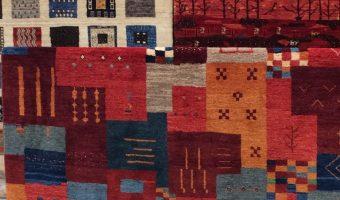 手織り絨毯のプレミアムギャッベ展、残すところあと2日です!